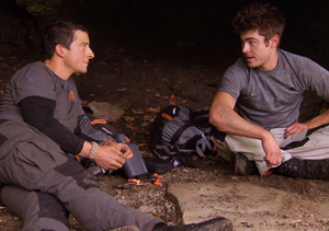 Zac Efron Opens Up to Bear Grylls About Why He Entered Rehab