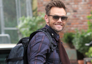 Joel McHale took a stroll in Manhattan's Meatpacking District.