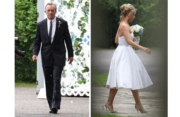 Robert F. Kennedy Jr. and Cheryl Hines Are Married! See Her Wedding Dress