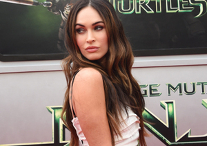 "Megan Fox attended the ""Teenage Mutant Ninja Turtles"" premiere in L.A."