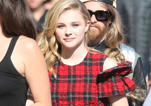 """If I Stay"" star Chloe Grace Moretz made an appearance on ""Jimmy Kimmel Live!""…"