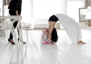 Hilaria Baldwin's Mind-Bending Pose for Yoga Journal