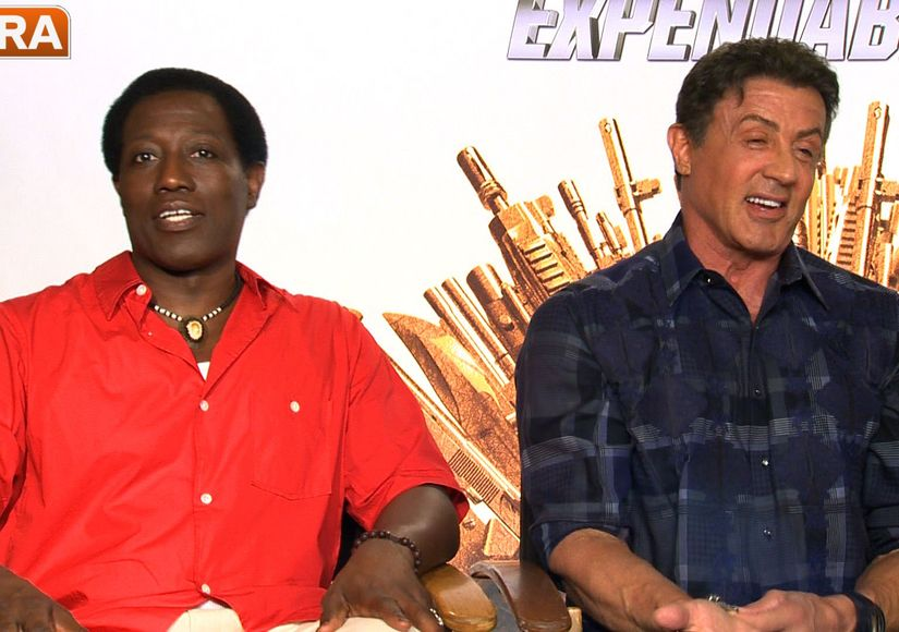 'The Expendables 3' Cast Pick Their Favorite Actresses for 'Expendabelles'…