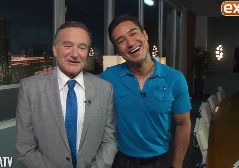 'Extra's' Best Interview Moments with Robin Williams