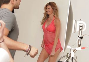 Go Behind the Scenes of Erin Andrews' Health Magazine Shoot
