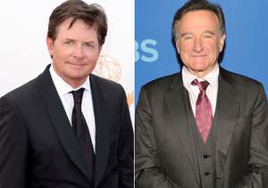 Michael J. Fox Reacts to Robin Williams' Parkinson's Diagnosis