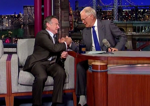 Video: David Letterman's Touching Tribute to Robin Williams