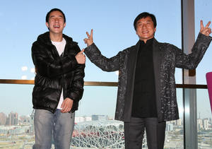Jackie Chan Responds to Son's Drug Arrest