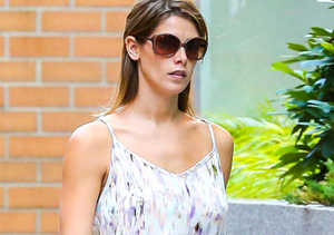 Ashley Greene stepped out in a sun dress in NYC.