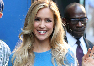 "Kristin Cavallari, who welcomed her second son in May, stopped by ""Good Morning…"