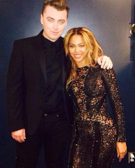 Sam Smith Got a Sneak Peek at Beyoncé's VMAs Performance