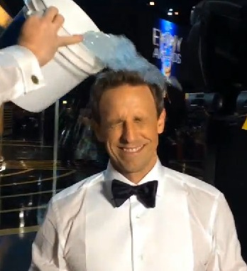 Emmy Awards 2014: Seth Meyers' Ice-Bucket Challenge and More Social Moments