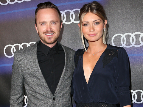 Aaron Paul S Wife Lauren Talks Kind Campaign Extratv Com