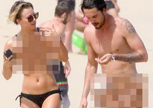 Kaley Cuoco Responds to Hacker by Posting Her Own 'Nude' Photos!