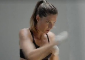Video! Gisele Bündchen Sweats for Under Armour