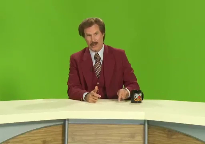 Even 'Anchorman's' Ron Burgundy Is Going to Stand Up to Cancer