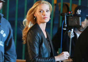 "Katherine Heigl was spotted filming scenes for her new TV series ""State Of…"