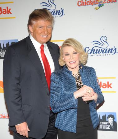 Donald Trump Reveals Joan Rivers' Role in New Season of 'Celebrity Apprentice'