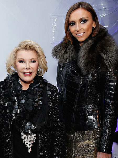 Giuliana Rancic Says Joan Rivers Helped Her Battle Breast Cancer