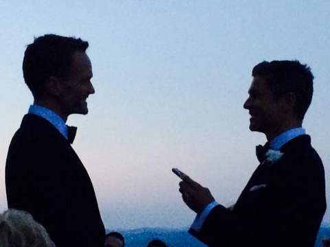 Neil Patrick Harris and David Burtka Are Married! See the Pic