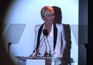 Watch! Sharon Stone's Heartfelt Speech About Elizabeth Taylor