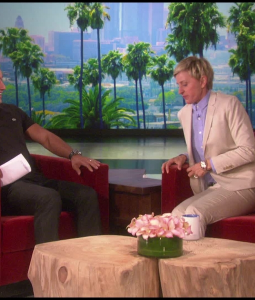 Mario Lopez Hangs with Ellen DeGeneres as She Previews Her Show's New Season