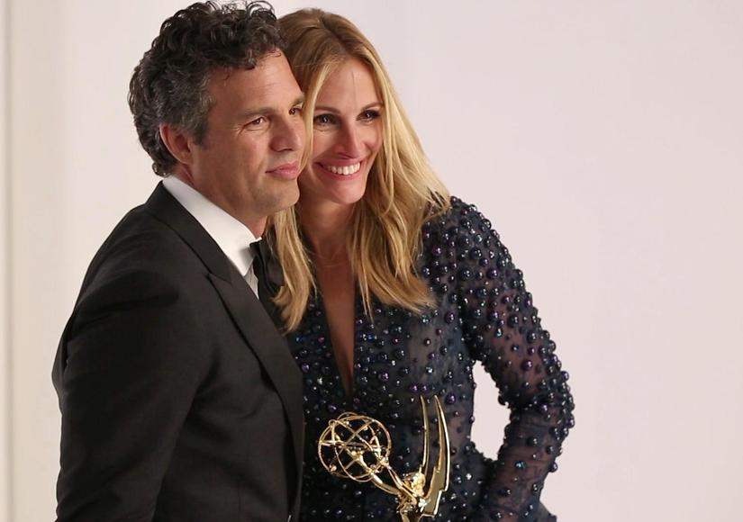 Look! Julia Roberts and 'The Normal Heart' Cast on Emmy Magazine