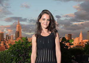 Katie Holmes Looks Sexy in the City, Muses on 'Dawson's Creek' Reunion