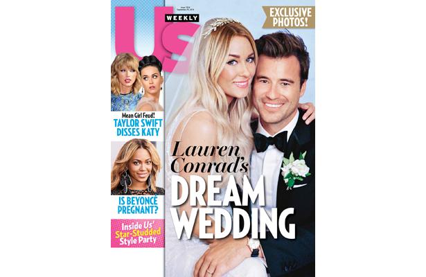 First Pic! See Lauren Conrad's Wedding Dress