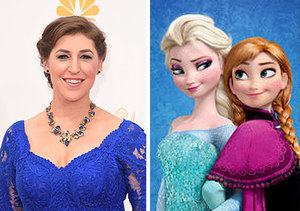 Mayim Bialik Won't Let It Go... She Hates 'Frozen'