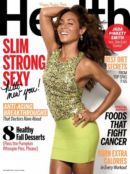 Health October 2014 Jada Pinkett Smith Cover