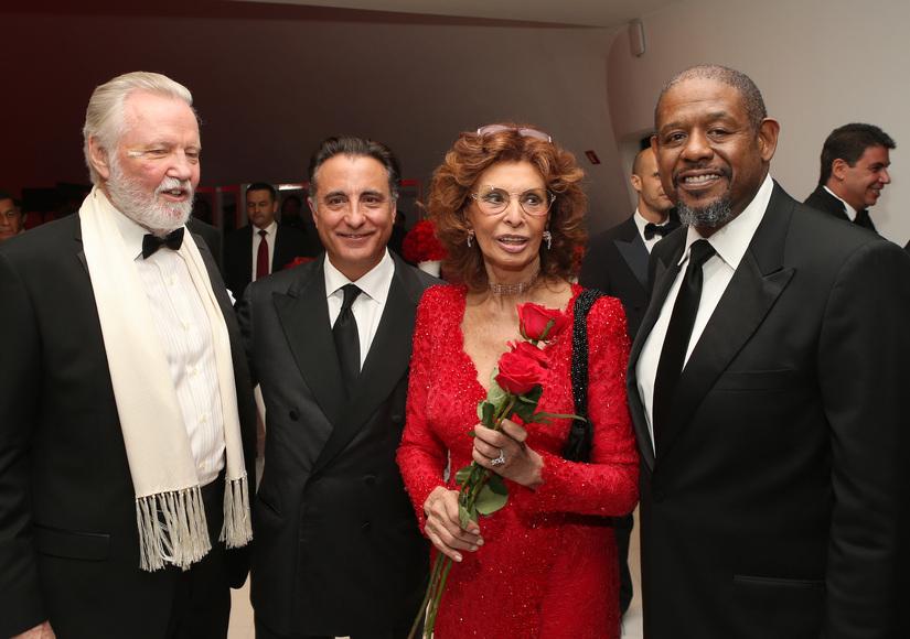 Stars Celebrate Sophia Loren's 80th Birthday!