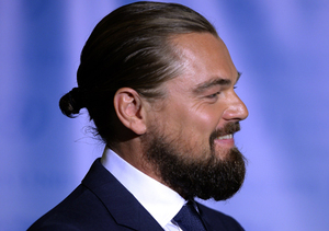 Leonardo DiCaprio: Rapping and Rocking a Man Bun from Coast to Coast