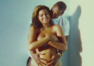Beyoncé Shows Off Naked Baby Bump in Flashback Video