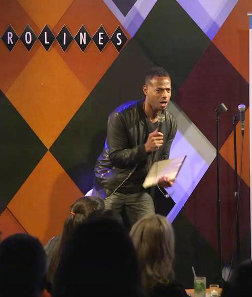 Comedians Marlon Wayans, Sherri Shepherd, and Others at #NYTough Showcase