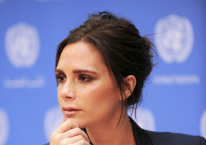 Goodwill Ambassador Victoria Beckham missed the opening of her new store in…