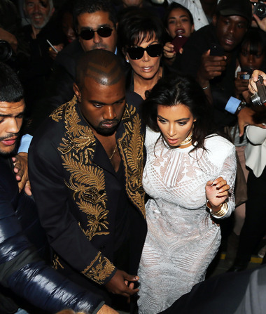 Kim & Kanye Take Security to the Extreme Following Attack in Paris