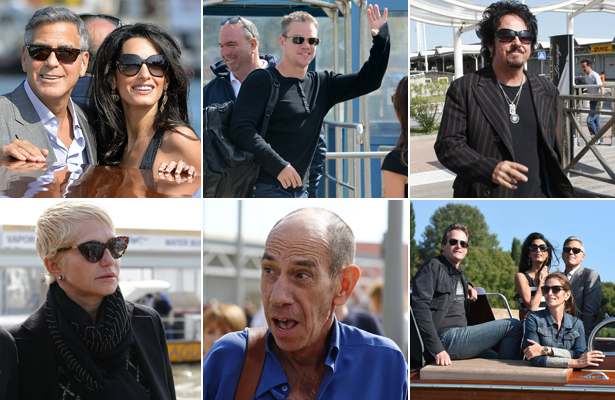 Wedding Countdown! George Clooney's Famous Friends Hit Venice