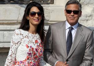 New Details! Amal's Dad Put Baby Pressure on George in Wedding Toast
