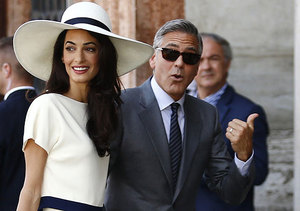 Clooney Wedding 'Extra'-vaganza: AJ's Venice Video Diary, Pics and More!