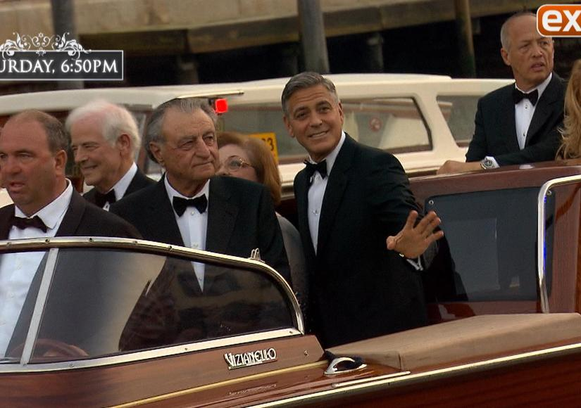 Clooney Wedding 'Extra'-vaganza: AJ's Venice Video Diary