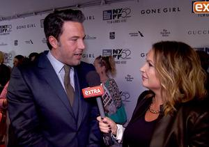 'Extra' at the 'Gone Girl' Premiere with Ben Affleck, Reese Witherspoon and…
