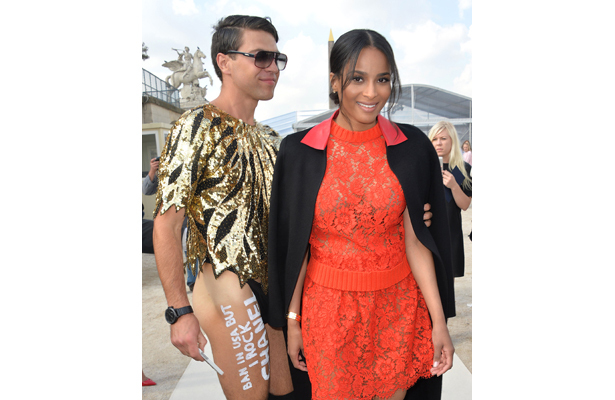 Ciara Targeted by Pantless Prankster Vitalii Sediuk!