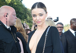 Miranda Kerr and Selena Gomez Pose for Awkward Pic at Paris Fashion Week