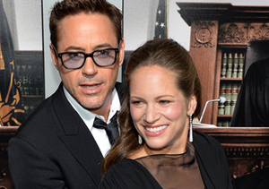 Robert Downey Jr. and wife Susan, who are expecting a baby girl, looked…