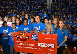 Mario Lopez on a Mission to Stop Bullying
