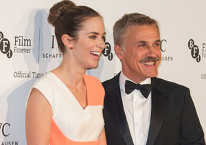 Emily Blunt and Christoph Waltz attended the IWC Gala dinner in honor of the…