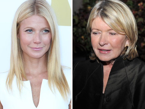 Gwyneth Paltrow Responds to Martha Stewart Diss