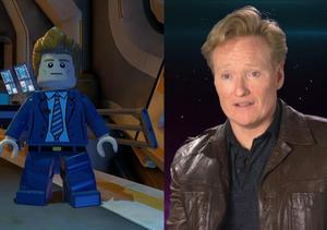 Go Behind the Scenes of 'LEGO Batman 3' with Conan O'Brien
