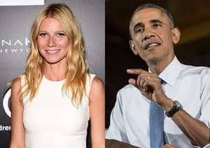 Gwyneth Paltrow Tongue-Tied over 'Handsome' President Obama